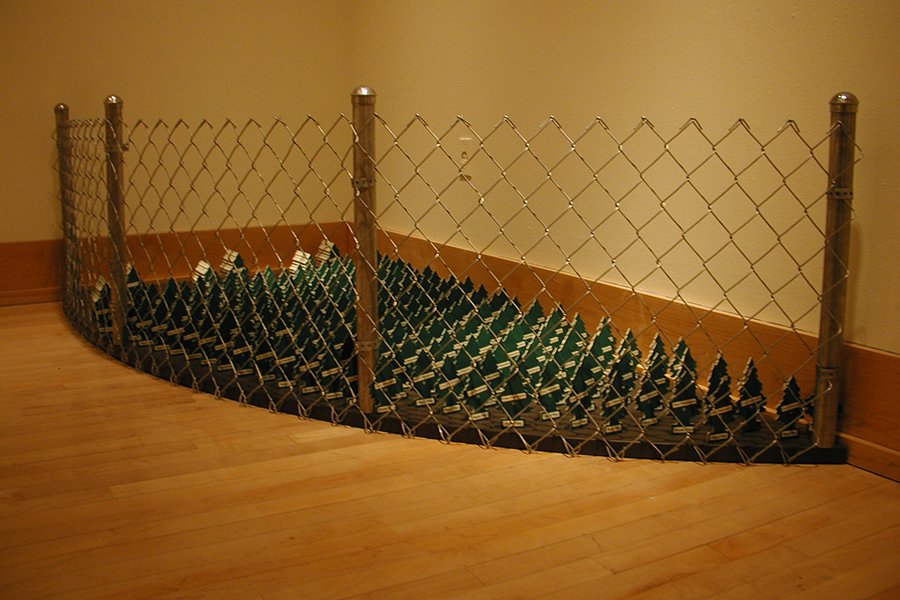 Yard Upkeep , 2005 Installed at the Indianapolis Art Center, Indianapolis, Indiana
