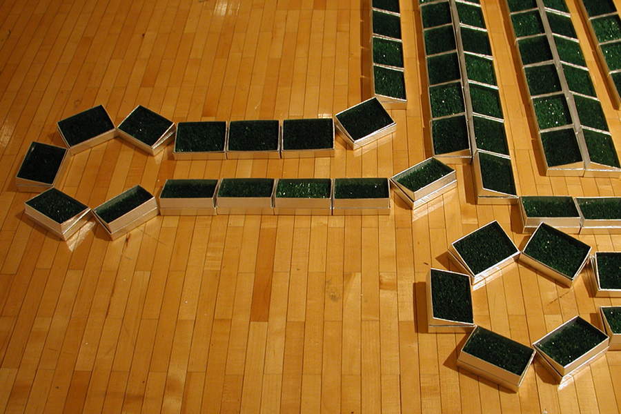 Culdesacs,  2005 Installed at the Ronald L. Barr Gallery, Indiana University Southeast, New Albany, IN