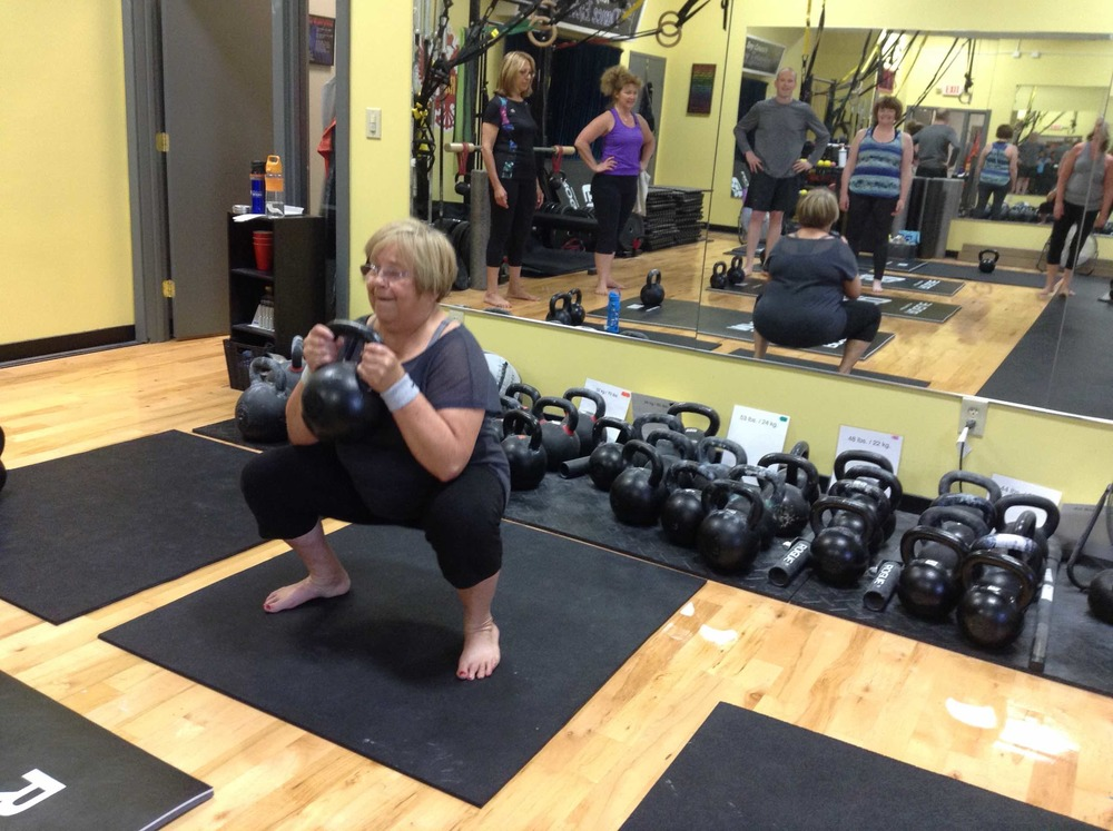 Patty applies her mobility and strength to all areas of her life; enjoying grandchildren, travel, walking, hiking, yoga and moving heavy things as needed.