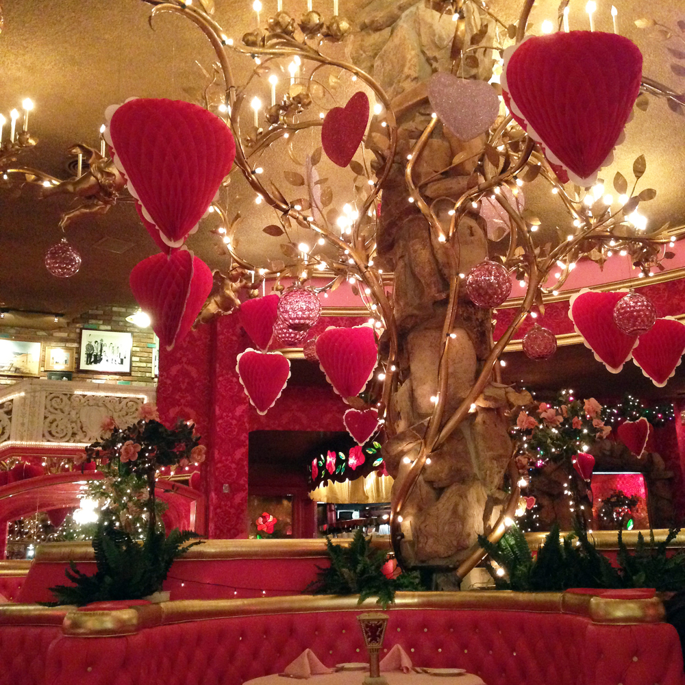 i don't recommend their stake house =( but the valentines day decorations were so big and cute