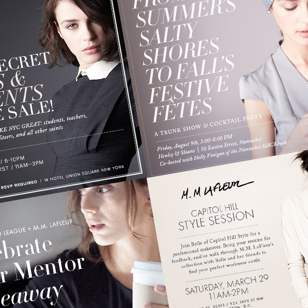 M.M. Lafleur Branding & Collateral