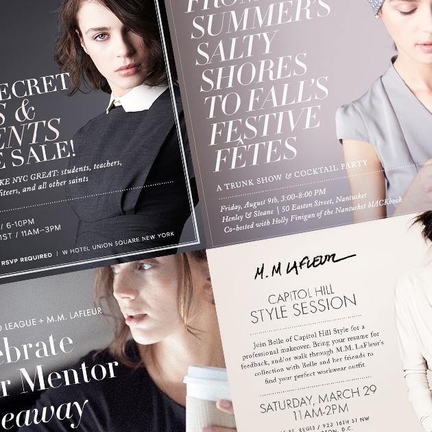 M.M. Lafleur Branding & Collateral