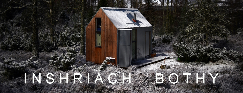 The Inshriach Bothy is a modern off-grid, live/work space designed specifically for artist residencies. The bothy was built as a part of the RSA Residencies for Scotland 2011, fabricated in residence at the Edinburgh Sculpture Workshop. Once built, the bothy was transported to Inshriach Estate, 4 miles from Aviemore where it sits on the banks of the river Spey within a traditional Scottish woodland area of the Cairngorms National Park.   http://www.thebothyproject.org/     RSA Residencies for Scotland 2013