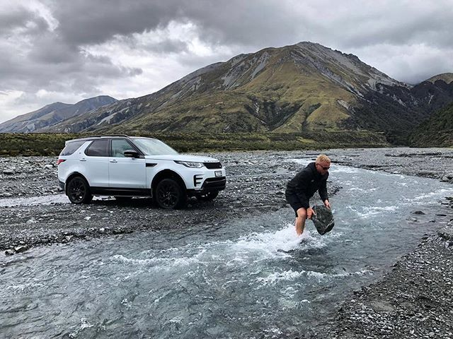 I was working hard behind the wheel while @timmartin60 was skimming stones!