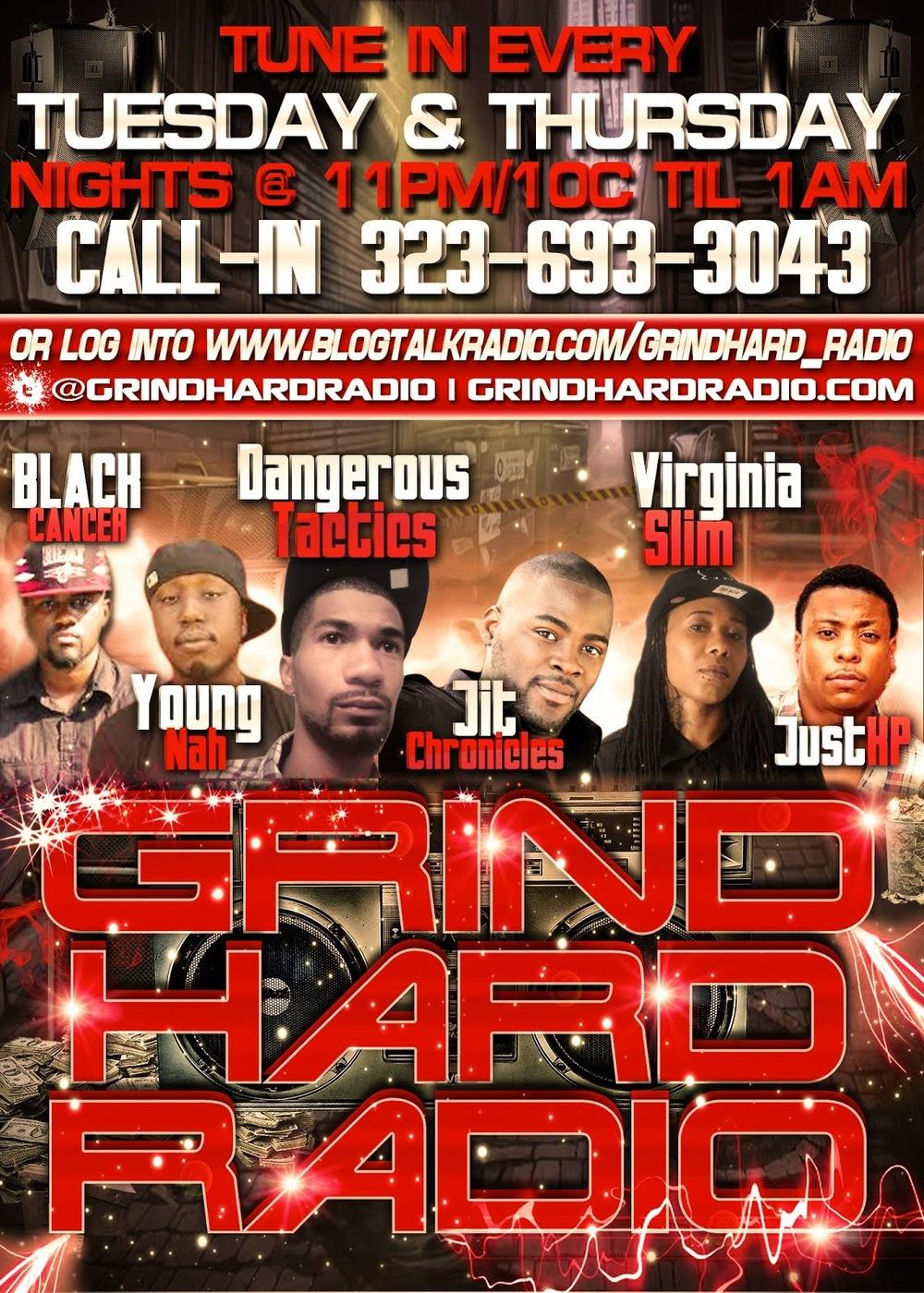 GrindHard Radio Promo 2014