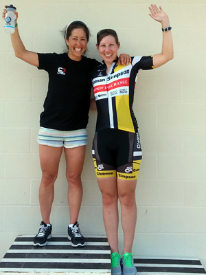 Alysia takes second in the Womens Cat 3.