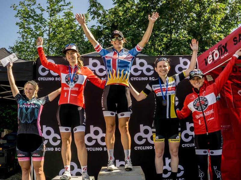 Michele Schaeffer wins 3rd in the Elite Women's Road Race