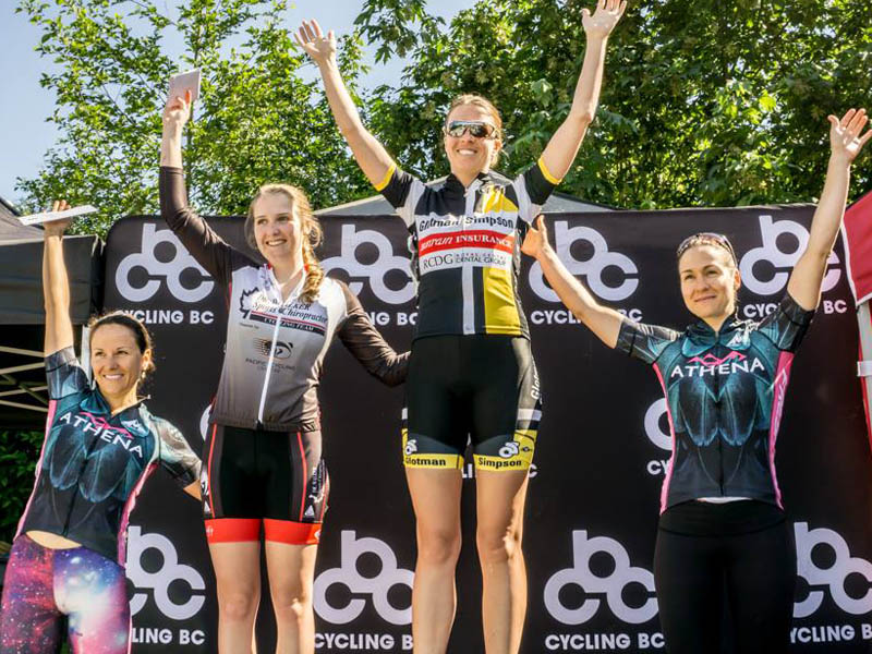 Jody Rechenmacher wins the Women's Cat 3 Road Race