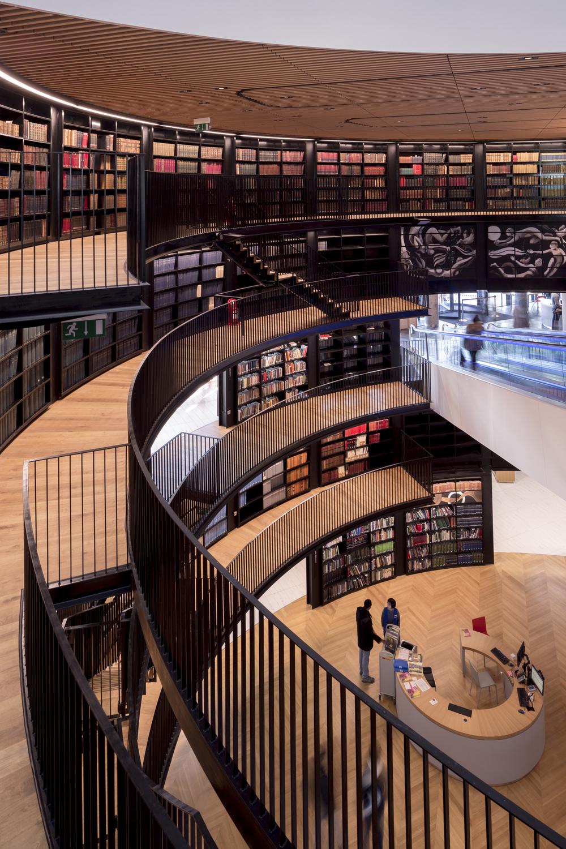 Birmingham Library Interior