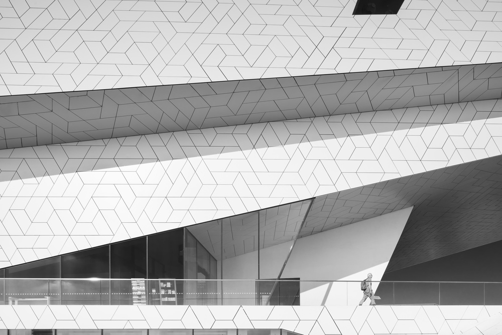 amsterdam-modern-architecture-facade-IJ-black-white-mark-hadden-photography