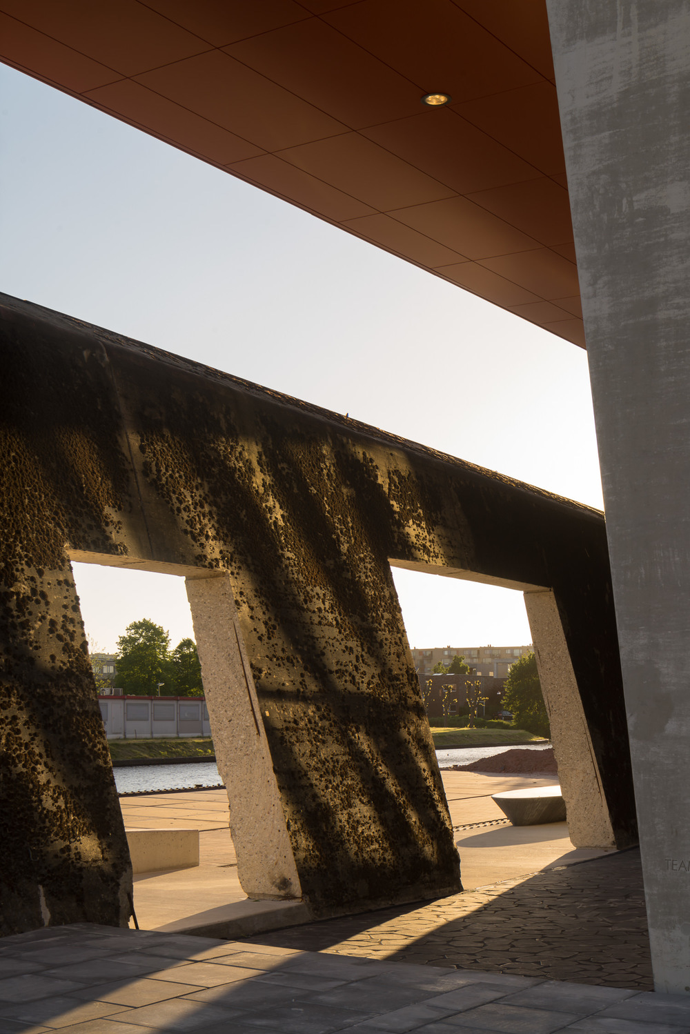 hete kolen entrance by mark hadden architectuurfotograaf amsterdam rotterdam groningen