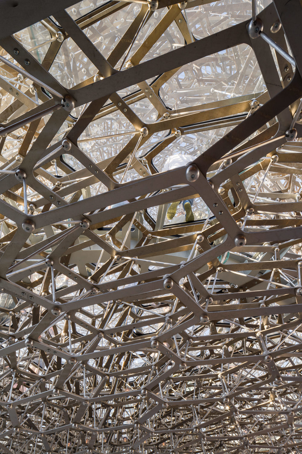 detail of uk pavilion, milan expo, mark hadden architecture photographer