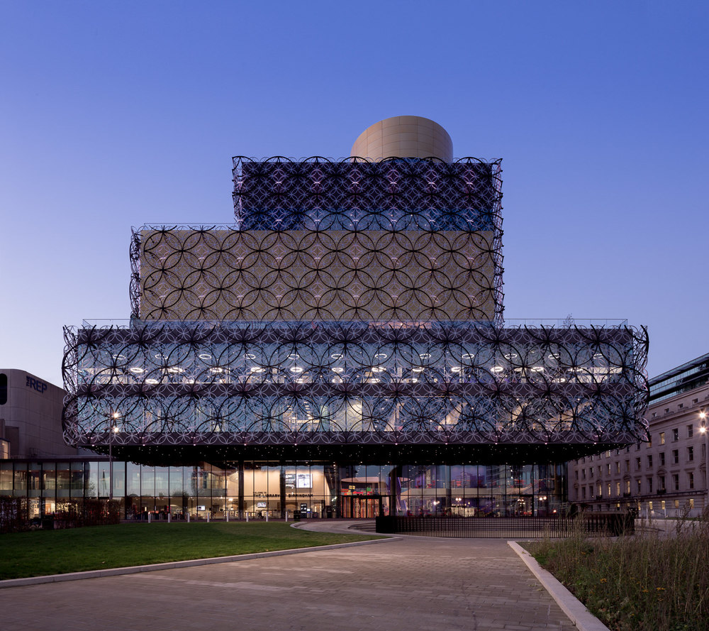 Birmingham Library by Mecanoo