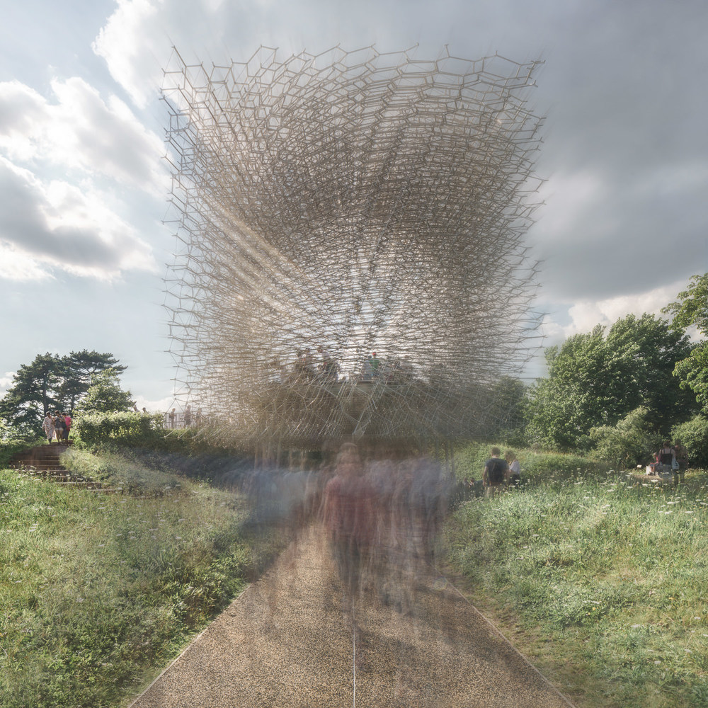 The Hive at Kew Gardens, Wolfgang Buttress. Mark Hadden Architecture Photographer