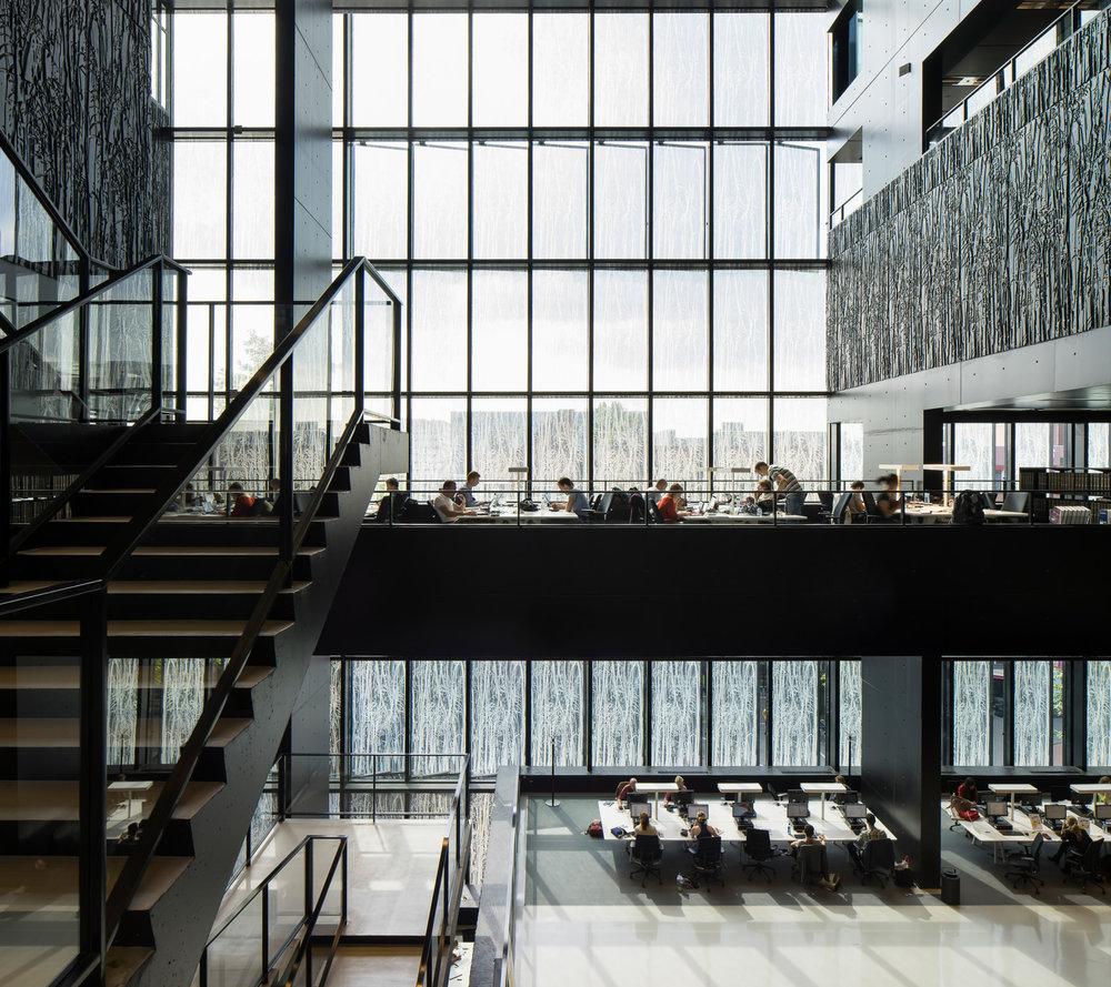 architectuur fotografie netherlands utrecht university library wiel arets