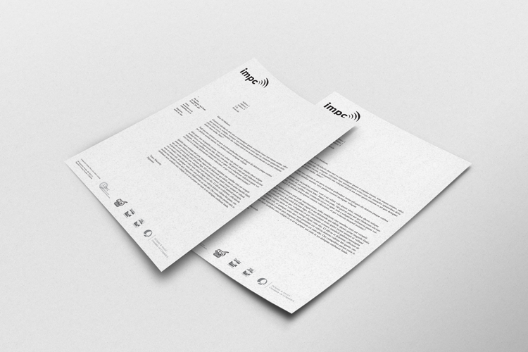 IMPC Letterheads