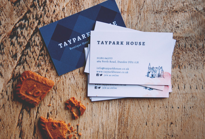 Taypark House Business Cards