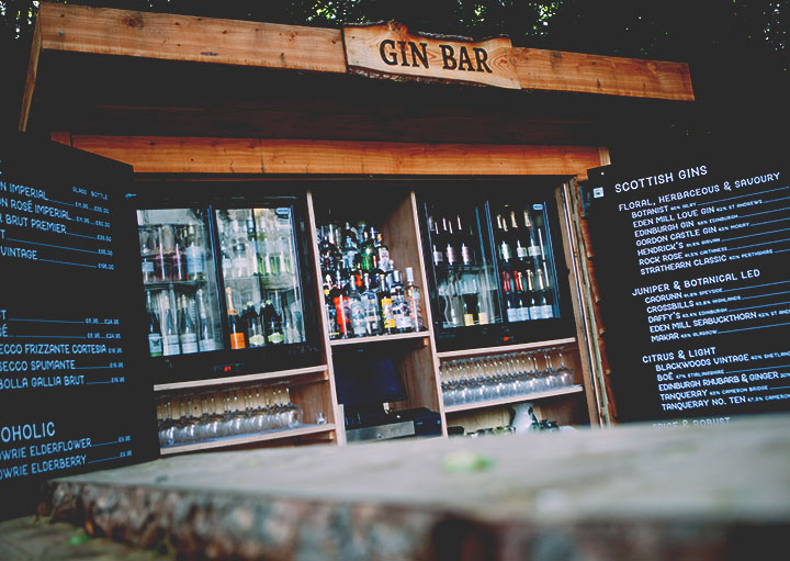 Taypark House Gin Bar Menu
