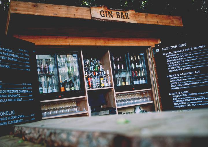 Taypark House Gin Bar Menu