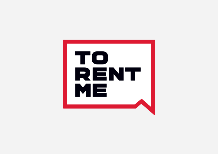 To Rent Me Logo Design