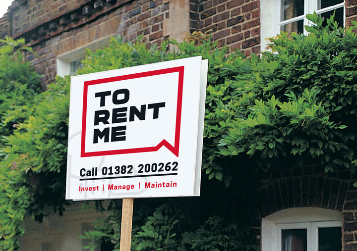 To Rent Me Property Sign