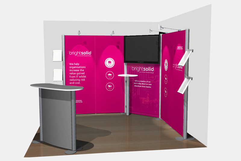 exhibition stand brightsolid