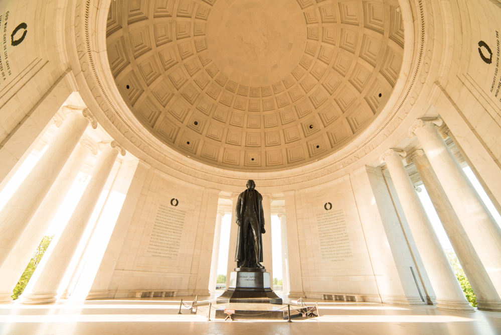 Interior of the Jefferson Memorial