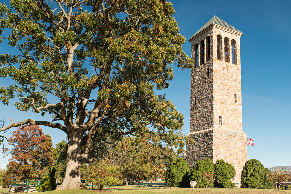 Luray Singing Tower - Located across the street from the Luray Caverns.