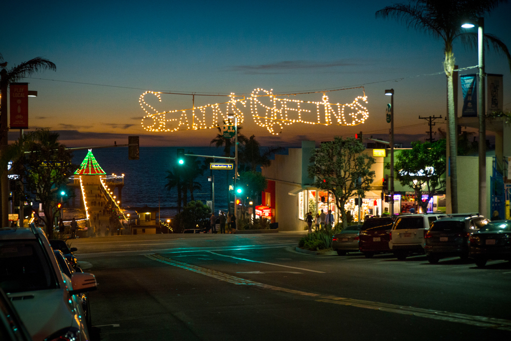 Christmas Time in Manhattan Beach, Los Angeles