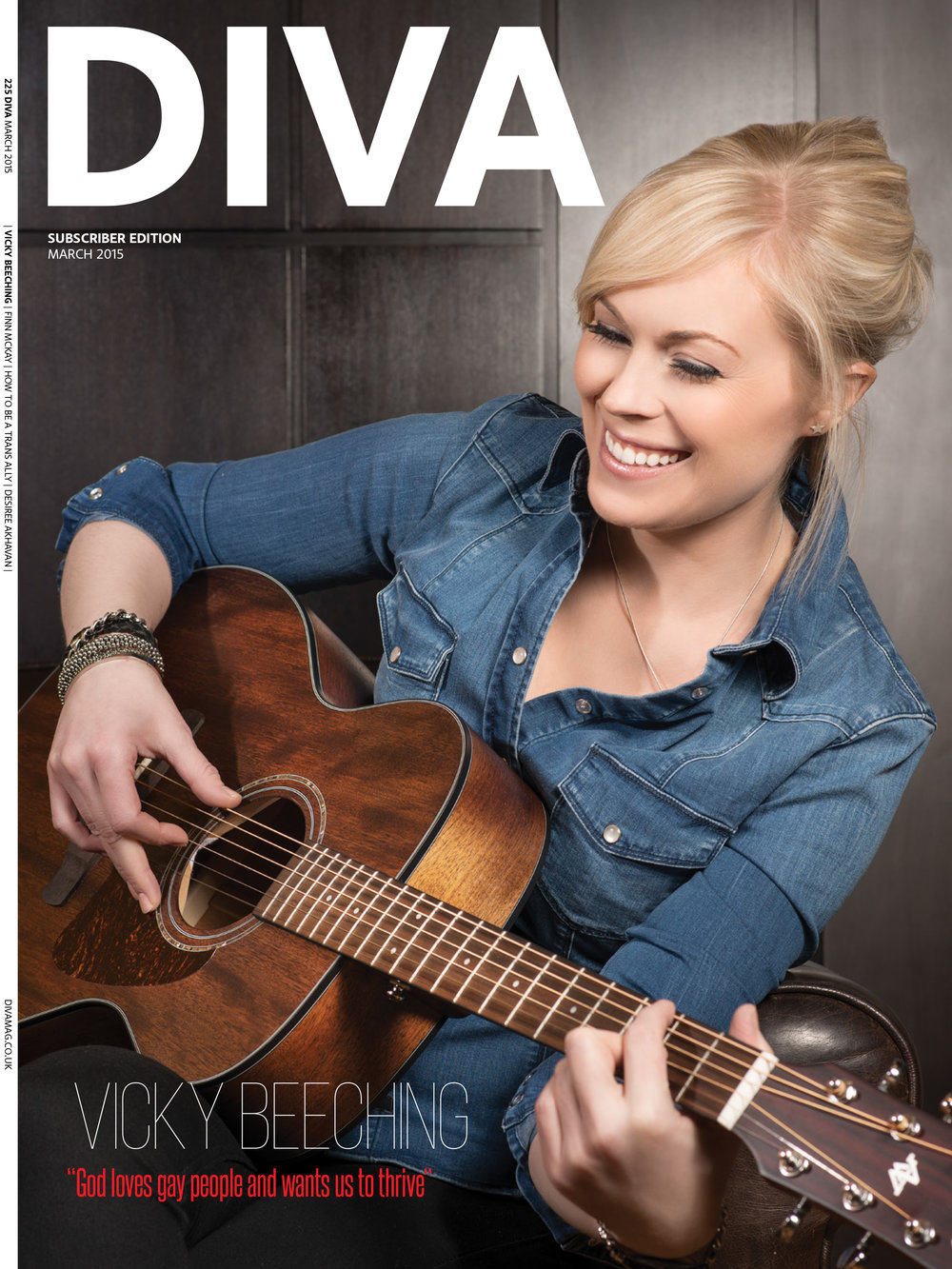 Editorial for DIVA Magazine (Subscriber Cover)