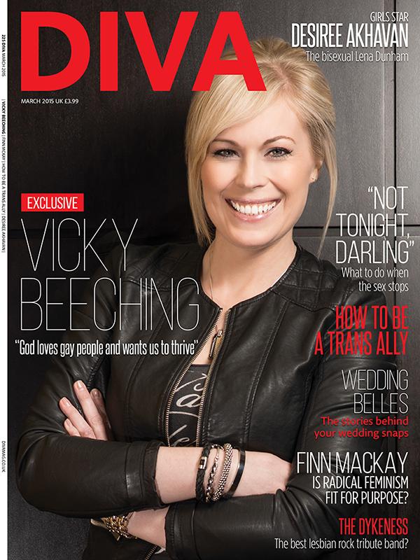 Diva Magazine, March 2015