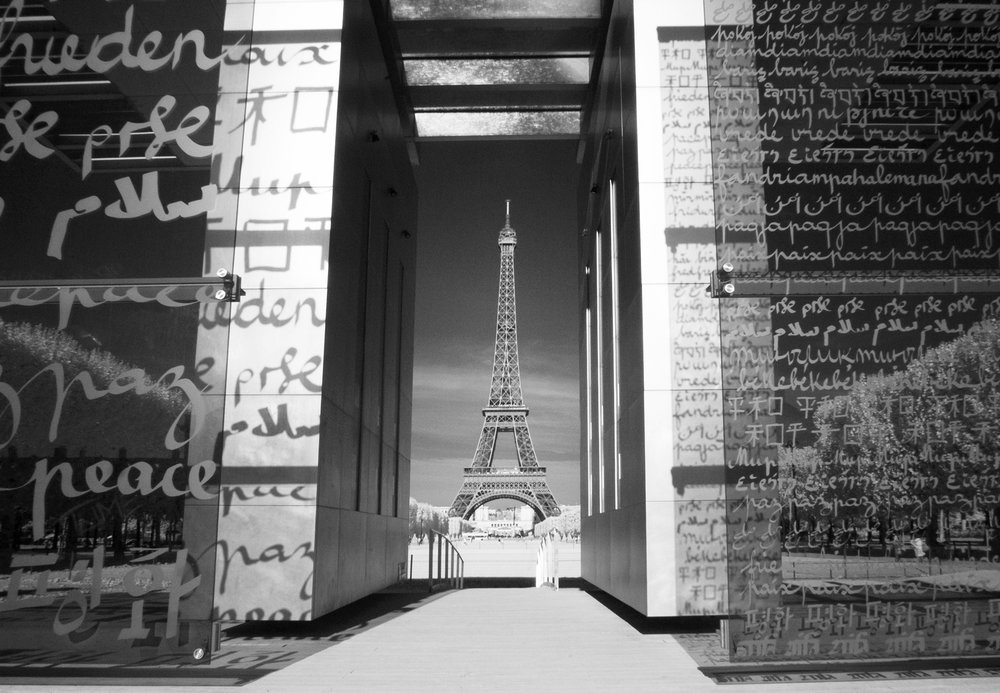 Paris - Eiffel Tower (Infrared)