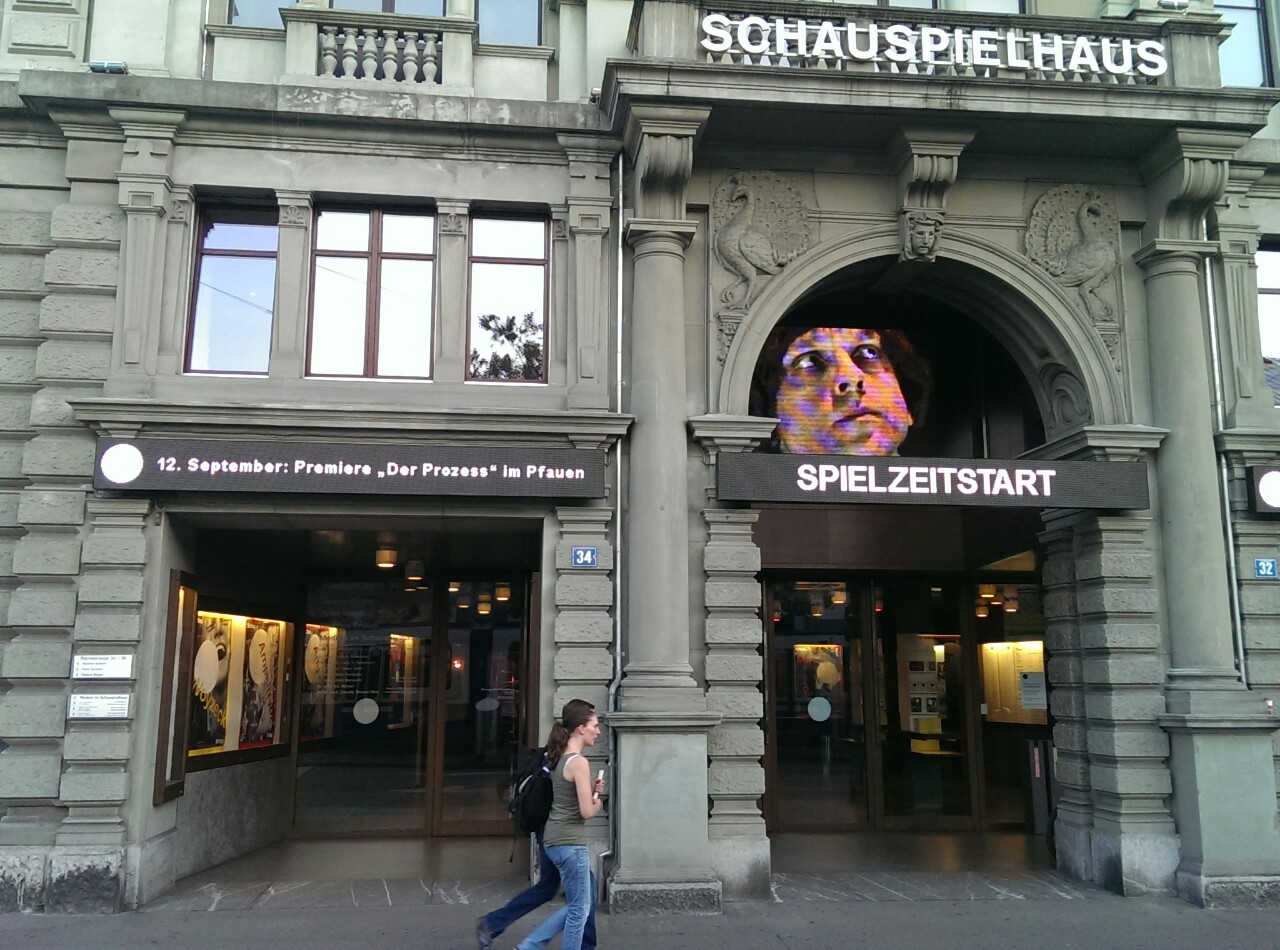 """Spielstart am 12.September im Schauspielhaus Zürich mit """"Der Prozess"""""""
