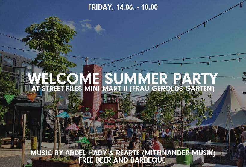 """Um 18:00 Uhr am Freitag findet im Gerolds Garten eine """"Welcome Summer Party"""" statt. Und zu eben dieser haben sich bereits einige Leute angemeldet. Eines kann ich Euch versprechen, das wird der Event morgen. Zudem kommt noch, dass das  Schweizer Fernsehen vor Ort  ist um Zürich West nicht nur vom Hören-Sagen kennenzulernen.   Ich werde da sein und meinen Sommer mit  Gratis Bier  und Barbeque einläuten. Freue mich darauf.   Sehen uns da!"""