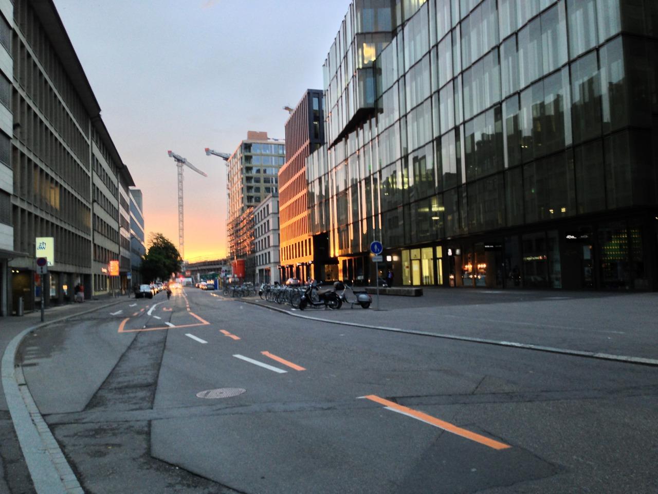 Guten Morgen Zürich. (Bild: Europaalee)