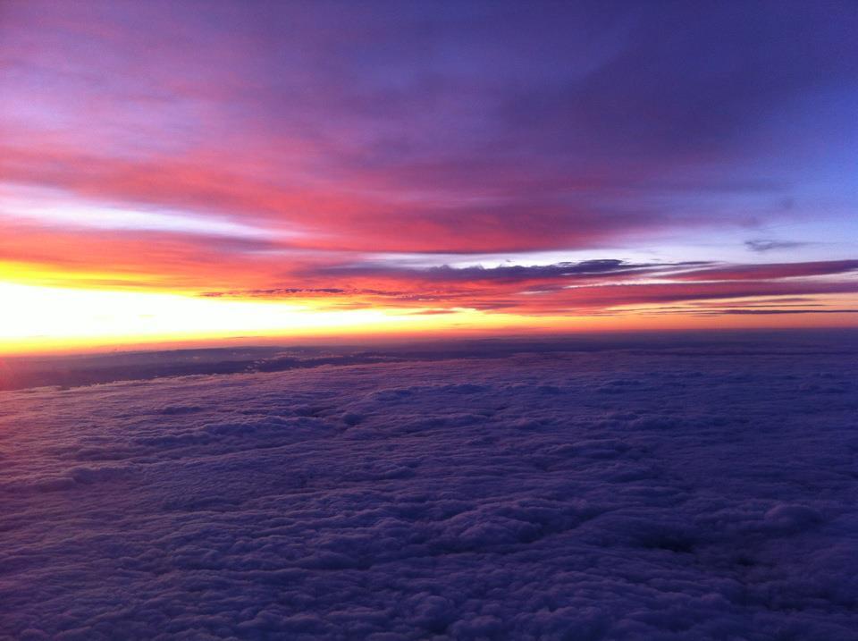 … aus einer Swiss über den Wolken