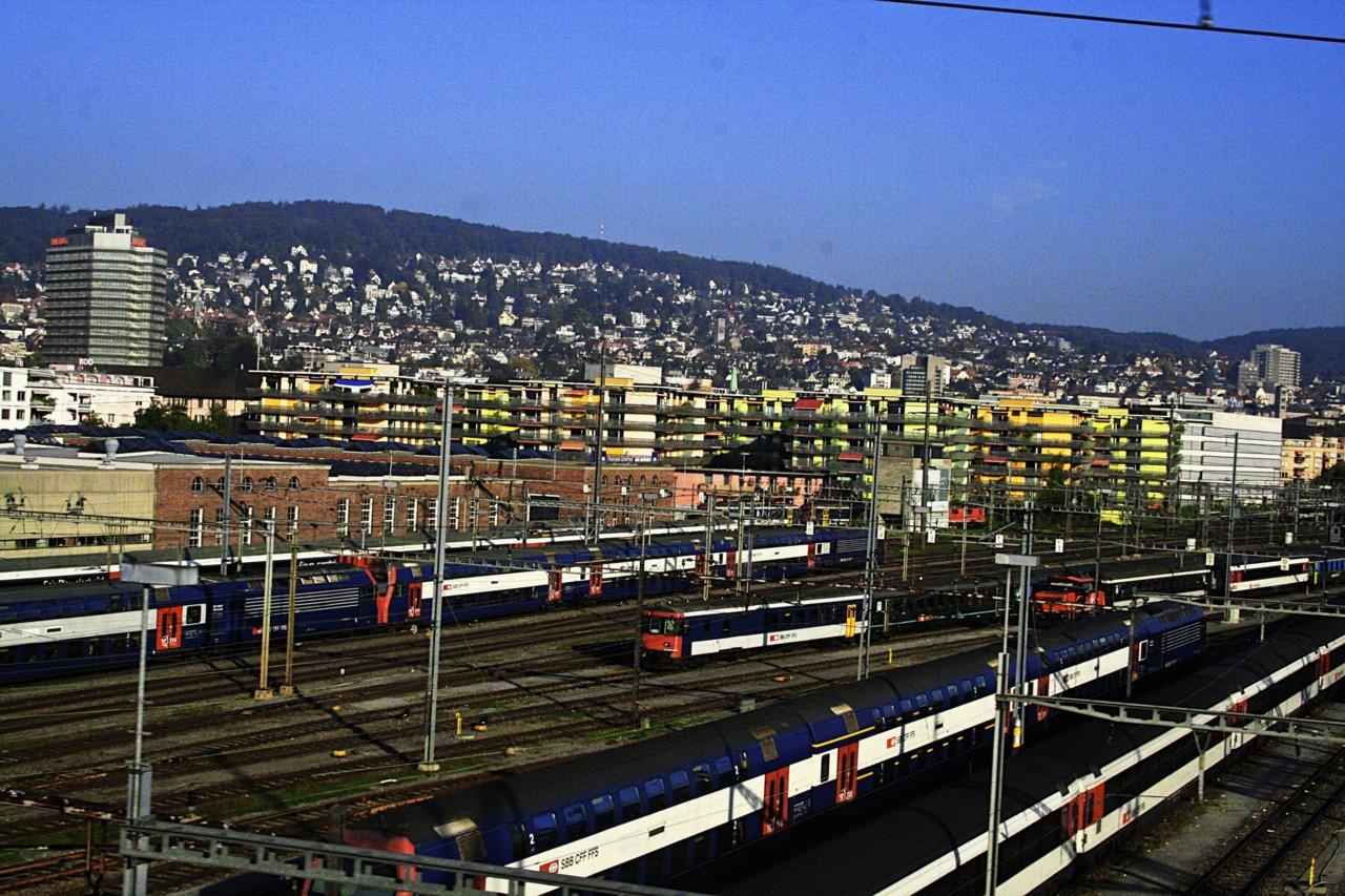 Da istroqportwiedereinmal ein tolles Bild Zürich's gelungen - Danke!