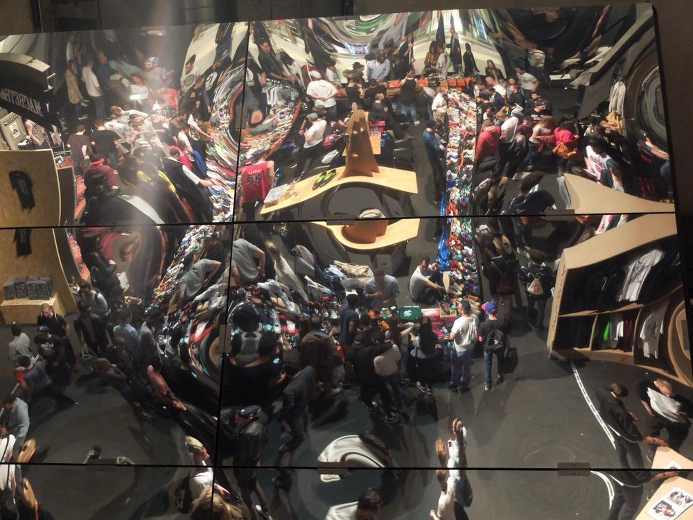 Der berühmte Spiegel der Härterei