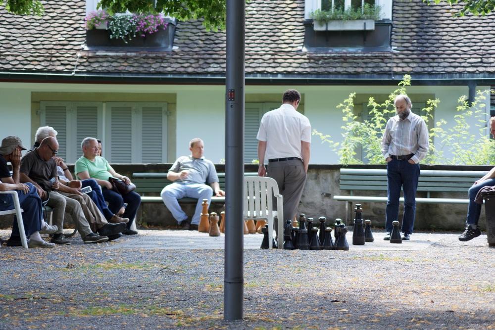Schachspieler - Lindenhof