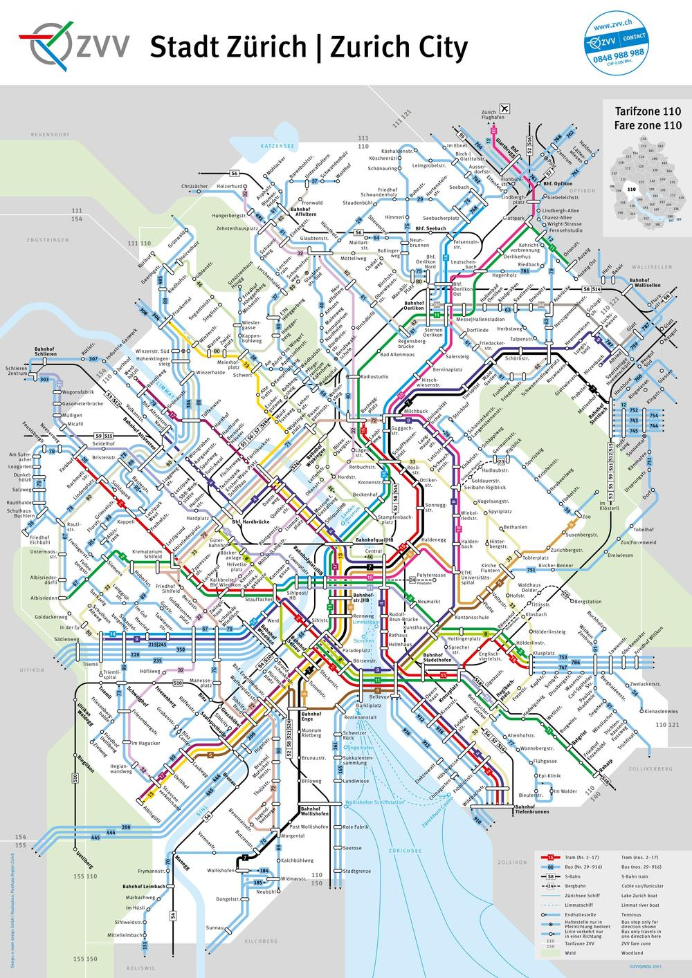 (Stadt-Zürich/ Liniennetzpläne)