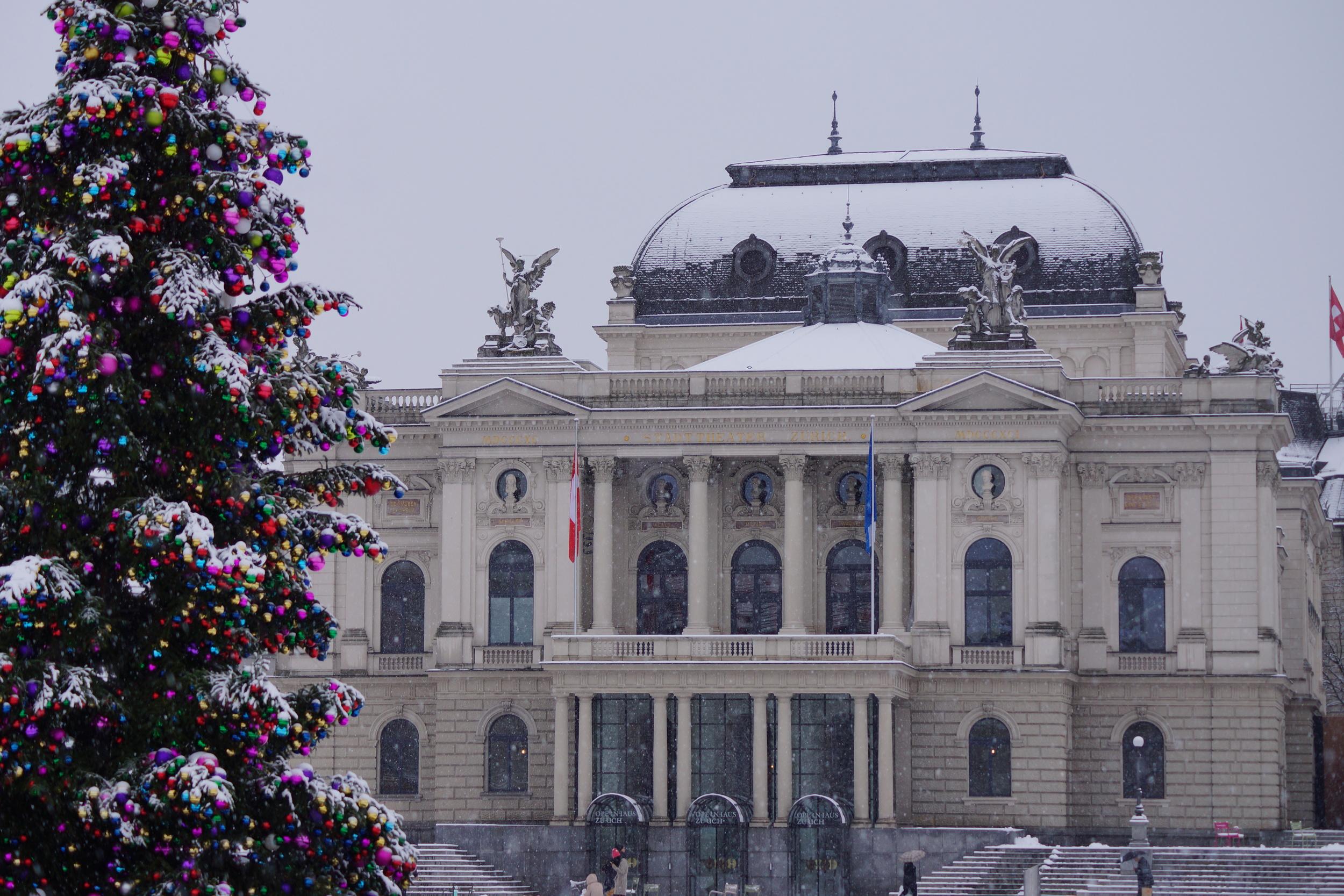 Weihnachtseinkauf in Zürich — Allaboutzurich