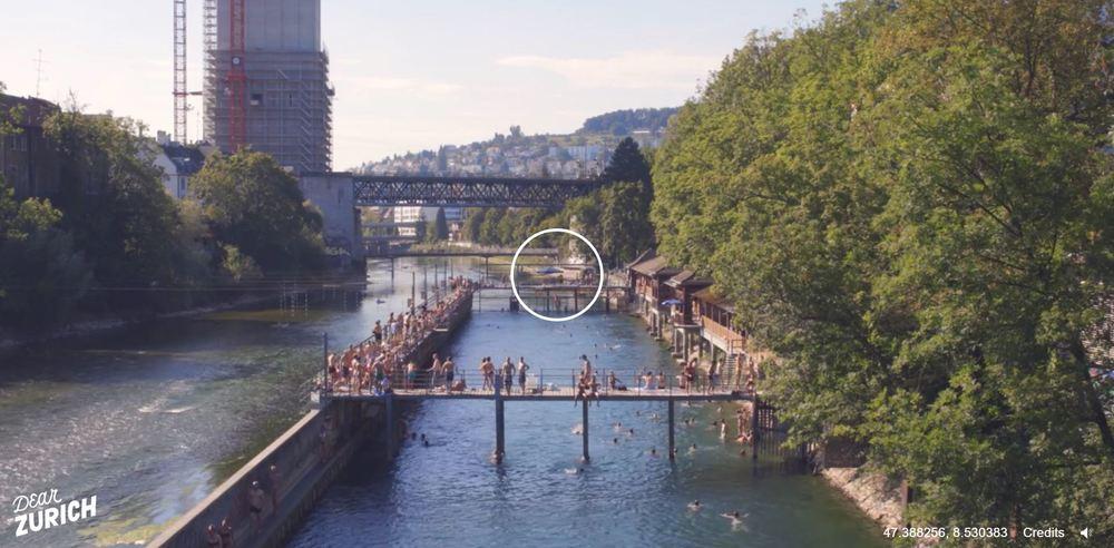 Dear Zurich / Unterer Letten / Bild: Screenshot