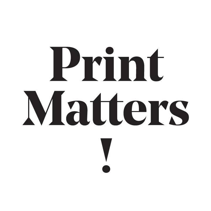 Print Matters / Bild: Facebook