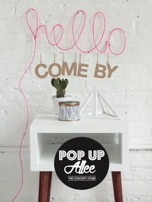 Pop Up Allee Flyer / Bild: Facebook
