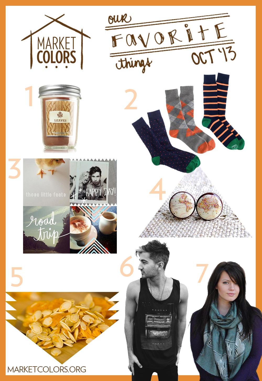 October Favorite Things