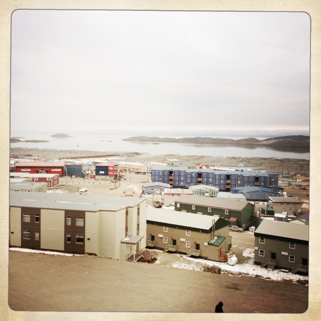 Iqaluit, Nunavut (photo credit:A. Greer, 2014)
