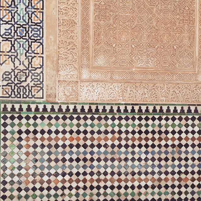 Real life collages at #Alhambra #granada #andalucia