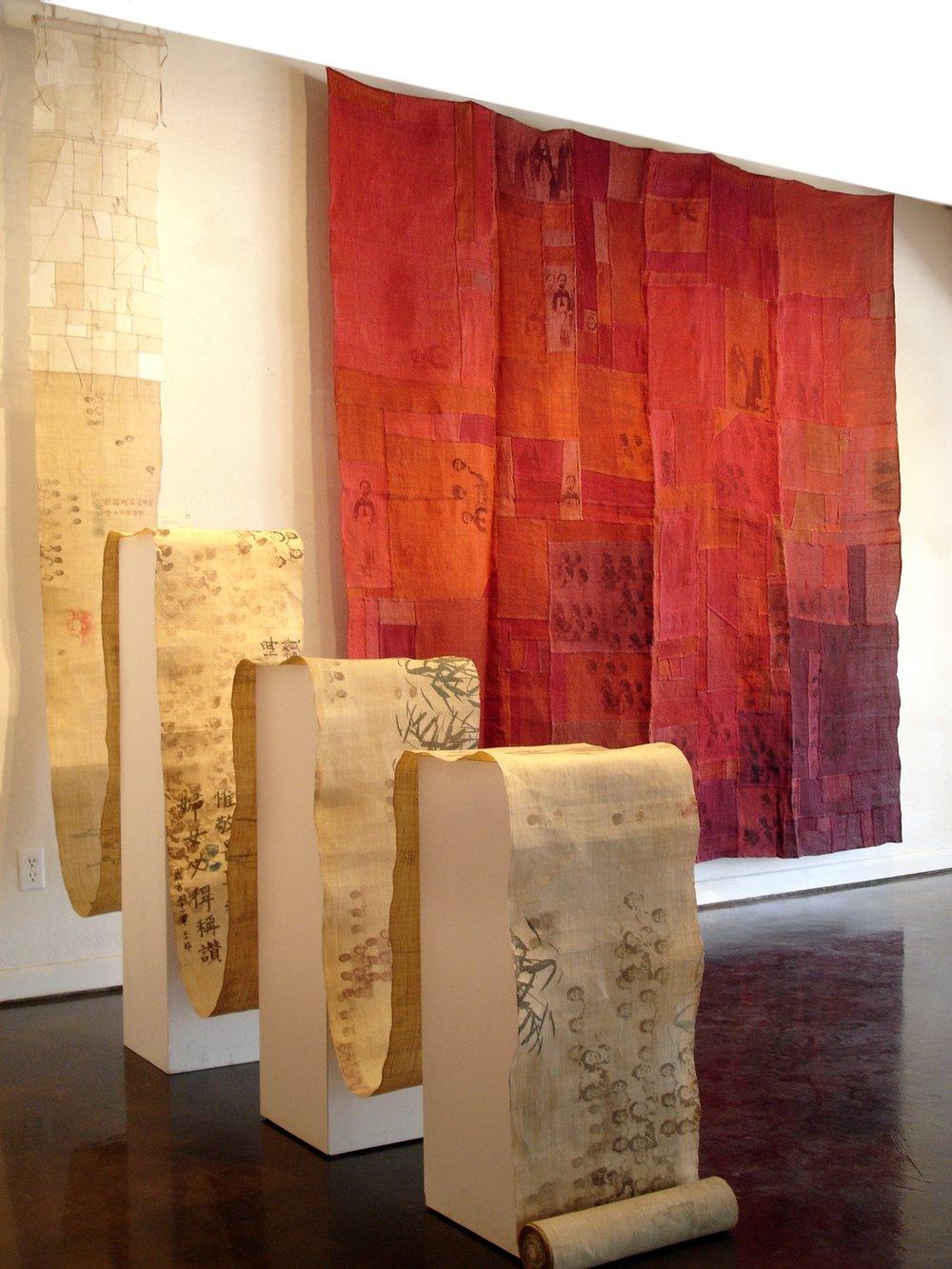 Chungie Lee,  Ivory Scroll