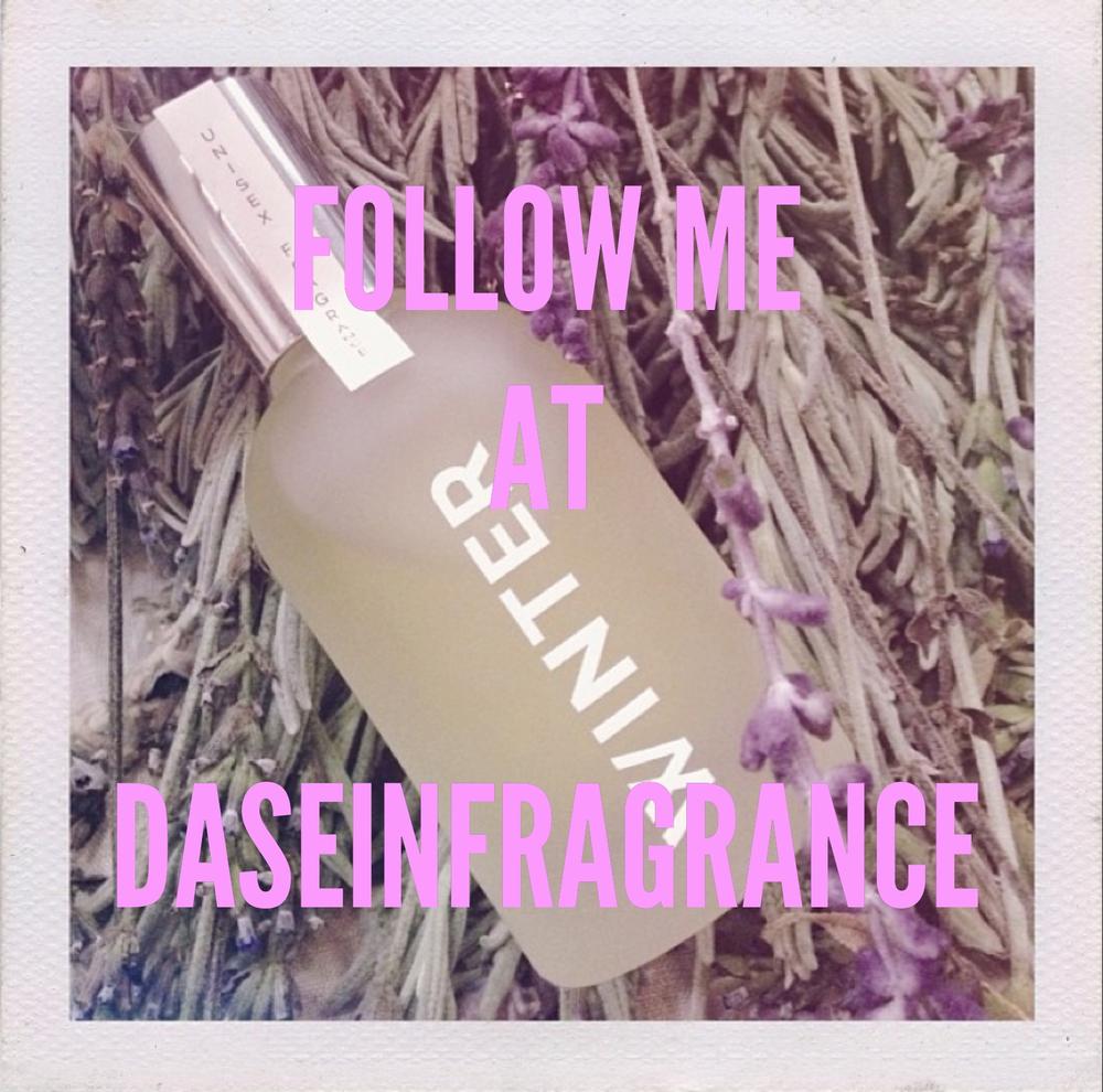 Dasein's WINTER fragrance on Instagram