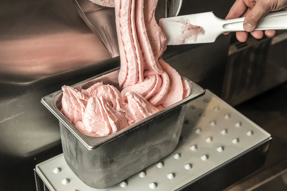 Freshly made Gelato